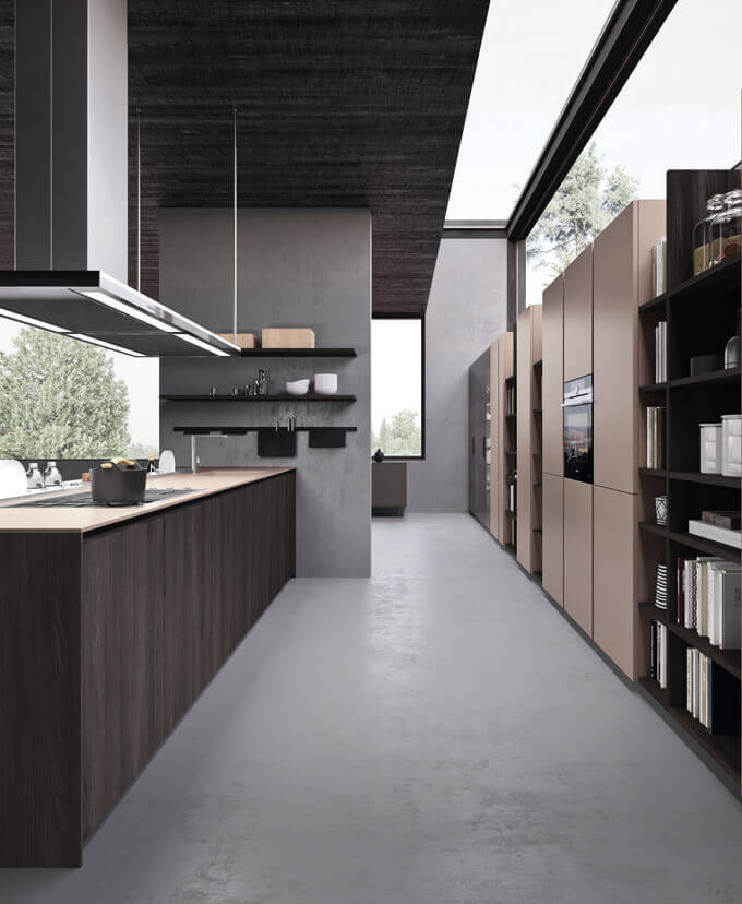 Italiaanse Keuken Comprex - Segno - Keukenland Wijhe